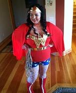 Pop Art Wonder Woman Homemade Costume