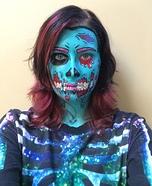 DIY Pop Art Zombie Costume
