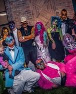 Pop Art Zombie Family Homemade Costume