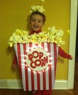 DIY Popcorn Costume