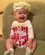 DIY Popcorn Baby Costume