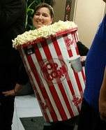 Popcorn Homemade Costume