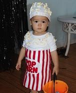 Waking Popcorn Homemade Costume
