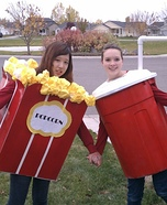 Popcorn and Soda DIY Costumes