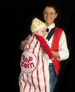 DIY Popcorn Baby Halloween Costume
