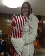 Popcorn Baby DIY Halloween Costume