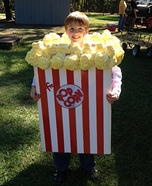 Popcorn Box Homemade Costume