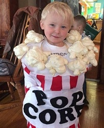 Popcorn Bucket Homemade Costume