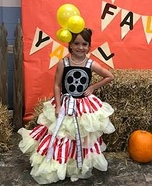 Popcorn Girl Homemade Costume