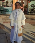 Pope Francis Homemade Costume