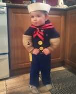 Popeye Homemade Costume