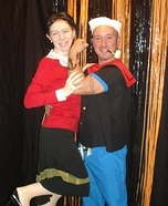 Popeye and Olive Oil Couples Costume