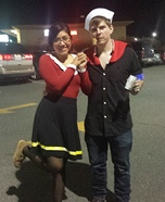 Popeye and Olive Oyl Costumes