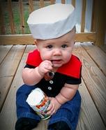 Popeye Baby Homemade Costume