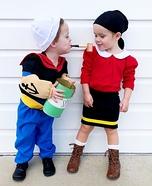Popeye & Olive Oyl Homemade Costume