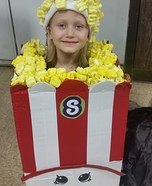Poppy Corn Shopkin Homemade Costume