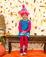 Poppy the Troll Homemade Costume