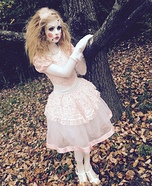 Porcelain Doll Homemade Costume