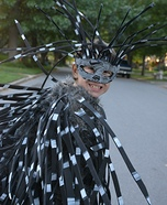 Creative DIY Porcupine Costume