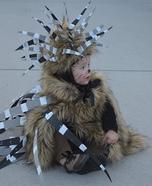 Porcupine Baby Costume DIY