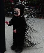 DIY Porcupine Baby Costume