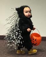 Porcupine Baby Homemade Costume