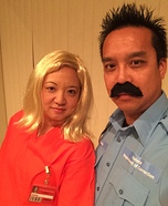 Pornstache and Piper Chapman Costume