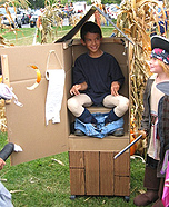 Illusion costume ideas - Porta Potty Costume Idea