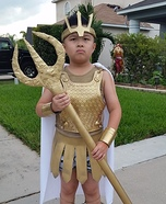 Poseidon Homemade Costume