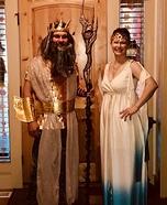 Poseidon & Aphrodite Homemade Costume