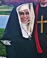 Possessed Nun Homemade Costume