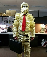 Post-It Man Homemade Costume