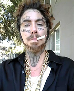 Post Malone Homemade Costume
