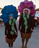 Potted Petunia Flowers Homemade Costume