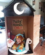 Potty Animal Homemade Costume