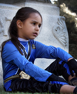 Blue Power Ranger Halloween Costume