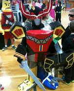 Power Ranger Megazord Homemade Costume