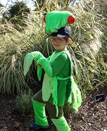 Praying Mantis Homemade Costume