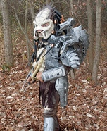 Creative Homemade Predator Costume