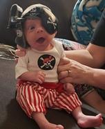 Preemie Pirate Homemade Costume