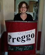 Costume ideas for pregnant women - Preggo Sauce Halloween Costume