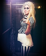 Pregnant Beetlejuice Homemade Costume