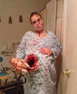 Pregnant Zombie Homemade Costume