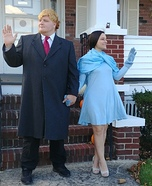 President and Mrs. Trump Homemade Costume