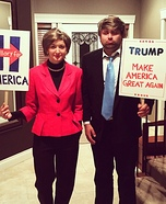 Presidential Candidates Homemade Costume