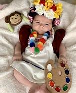 Pretty Little Frida Homemade Costume