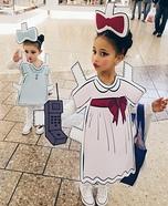Pretty Paper Dolls Homemade Costume