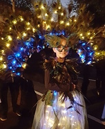 Pretty Peacock Homemade Costume