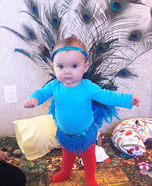 Pretty Peacock Baby Costume