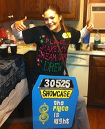 Price is Right Contestant Costume